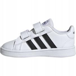 Buty adidas Grand Court I Jr EF0118 białe 4