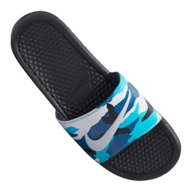 Klapki Nike Benassi Jdi Print M 631261-027 wielokolorowe 2