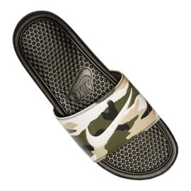 Klapki Nike Benassi Jdi Print M 631261-301 wielokolorowe 3