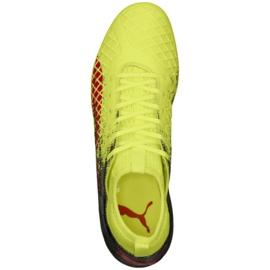 Buty piłkarskie Puma Future 18.3 Fg Ag Fizzy M 104328 01 zielone zielone 4