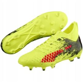 Buty piłkarskie Puma Future 18.3 Fg Ag Fizzy M 104328 01 zielone zielone 7