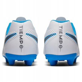 Buty piłkarskie Nike Tiempo Legend 7 Club Fg Jr AH7255 107 białe wielokolorowe 5