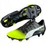 Buty piłkarskie Puma evoPOWER 1.3 Graphic Fg M 103769 01 wielokolorowe czarny, zielony 3