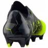Buty piłkarskie Puma evoPOWER 1.3 Graphic Fg M 103769 01 wielokolorowe czarny, zielony 4