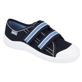 Befado obuwie dziecięce  672Y049 granatowe niebieskie 1