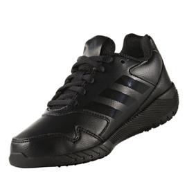 Buty treningowe adidas Alta Run K Jr BA7897 czarne 2