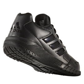 Buty treningowe adidas Alta Run K Jr BA7897 czarne 3