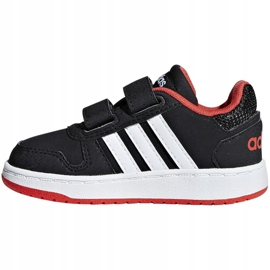 Buty adidas Hoops 2.0 Cmf I Jr B75965 czarne 2