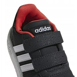 Buty adidas Hoops 2.0 Cmf I Jr B75965 czarne 3