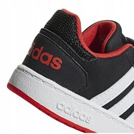 Buty adidas Hoops 2.0 Cmf I Jr B75965 czarne 4