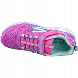 Buty Skechers Galaxy Lights Jr 10920L-NPMT różowe 2