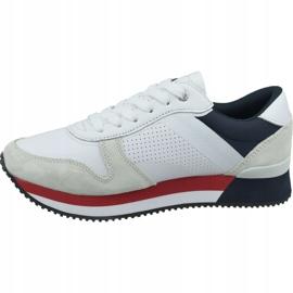 Buty Tommy Hilfiger Active City Sneaker W FW0FW04304 020 białe czerwone granatowe 1