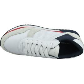 Buty Tommy Hilfiger Active City Sneaker W FW0FW04304 020 białe czerwone granatowe 2