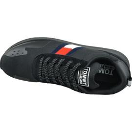 Buty Tommy Hilfiger Flag Flexi Tommy Jeans Sneakers M EM0EM00331 990 czarne 2