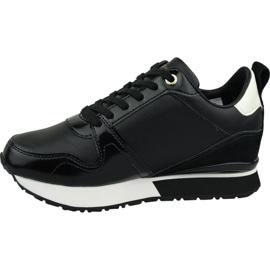 Buty Tommy Hilfiger Leather Wedge Sneaker W FW0FW04420 990 czarne 1