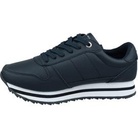 Buty Tommy Hilfiger Tommy Retro Crystal Sneaker W FW0FW04683 Cki granatowe 1