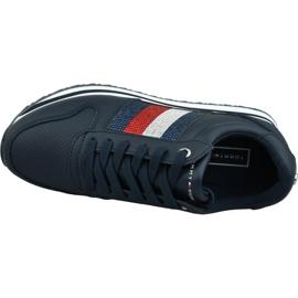Buty Tommy Hilfiger Tommy Retro Crystal Sneaker W FW0FW04683 Cki granatowe 2
