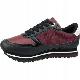 Buty Tommy Hilfiger Tommy Retro Branded Sneaker W FW0FW04305 Gby czerwone 1