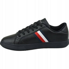 Buty Tommy Hilfiger Essential Leather Cupsole M FM0FM02388 Bds czarne 1