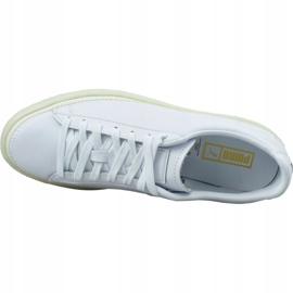 Buty Puma Basket Stitched M 368387 01 białe 2