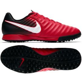 Buty piłkarskie Nike TiempoX Ligera Iv czerwone 3