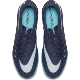 Buty halowe Nike HypervenomX Phelon Iii Ic granatowe wielokolorowe 3