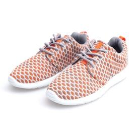 Sportowe buty Do Biegania Roshe KA537 Orange pomarańczowe 3