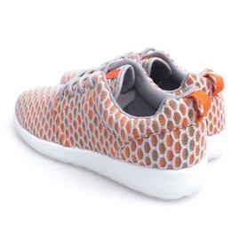 Sportowe buty Do Biegania Roshe KA537 Orange pomarańczowe 4