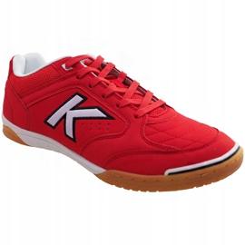 Buty halowe Kelme Precision Indoor 55211 0130 czerwone czerwony 1