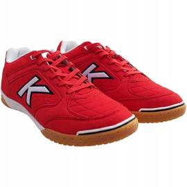 Buty halowe Kelme Precision Indoor 55211 0130 czerwone czerwony 2