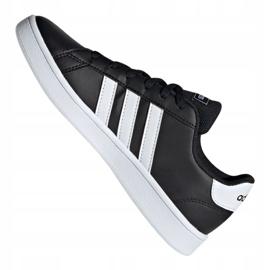 Buty adidas Grand Court Jr EF0102 czarne 1