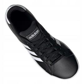 Buty adidas Grand Court Jr EF0102 czarne 3
