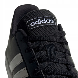 Buty adidas Grand Court Jr EF0102 czarne 4