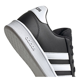 Buty adidas Grand Court Jr EF0102 czarne 5