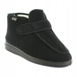 Befado obuwie damskie pu orto  987D002 czarne 2