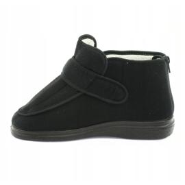 Befado obuwie damskie pu orto  987D002 czarne 3
