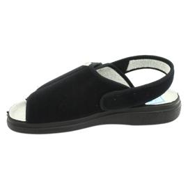 Befado obuwie damskie pu 983D004 czarne 3