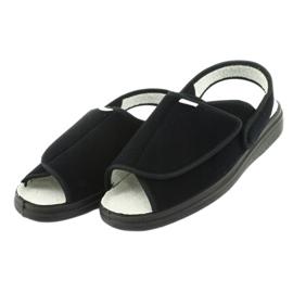 Befado obuwie damskie pu 983D004 czarne 4