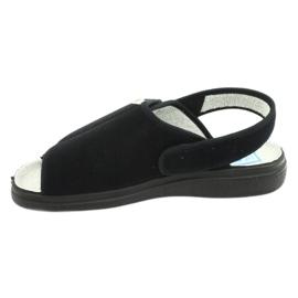 Befado obuwie damskie pu 983D004 czarne 2