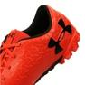 Buty piłkarskie Under Armour Magnetico Select Tf M 3000116-600 czerwone pomarańczowy 2