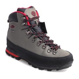 Profesjonalne Obuwie Trekkingowe 6540 Szary szare 5