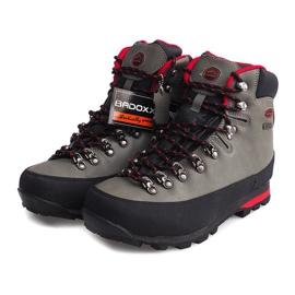 Profesjonalne Obuwie Trekkingowe 6540 Szary szare 2
