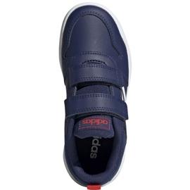 Buty adidas Tensaur C Jr EF1095 granatowe 1