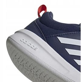 Buty adidas Tensaur C Jr EF1095 granatowe 4