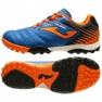 Buty piłkarskie Joma Toledo 2004 Fg Jr TOJS.2004.TF niebieski, pomarańczowy niebieskie 2