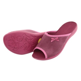 Befado obuwie damskie pu 254D084 różowe 5
