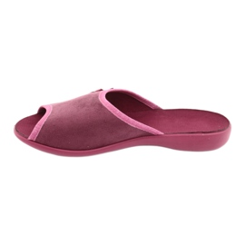 Befado obuwie damskie pu 254D084 różowe 3