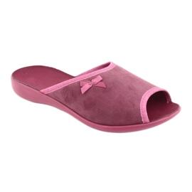 Befado obuwie damskie pu 254D084 różowe 2