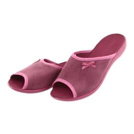 Befado obuwie damskie pu 254D084 różowe 4