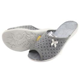 Befado obuwie damskie pu 254D047 szare 4